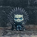 Funko- Pop Deluxe: Game of S10: Night King Sitting on Throne Figura Coleccionable, Multicolor...