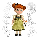 Official Disney Frozen 40cm Anna Animator Toddler Doll With Olaf Accessory by Disney